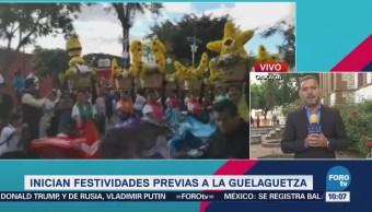 Todo Listo Oaxaca Celebrar Fiestas Guelaguetza