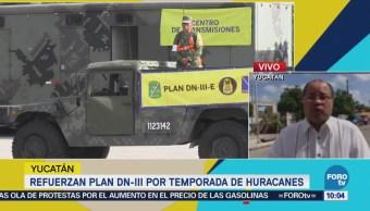 Sedena Refuerza Plan DNIII Temporada Huracanes Yucatán