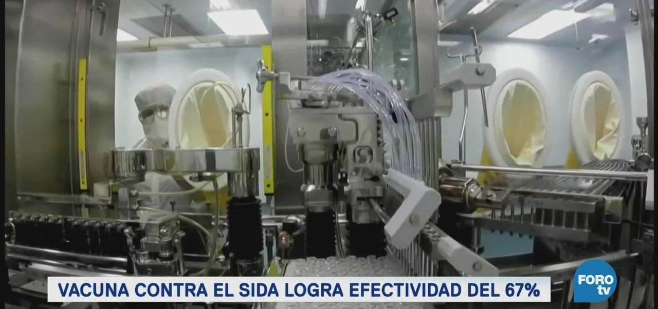Vacuna Contra Sida Logrado Exitosos Resultados