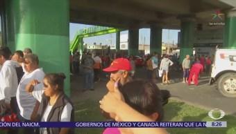 Vecinos de Ecatepec bloquean la avenida Central por falta de agua