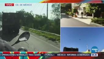 Vecinos de Naucalpan perciben ligero movimiento por sismo