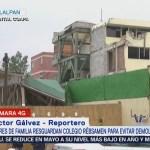 Vecinos realizan guardias Rébsamen evitar demolición