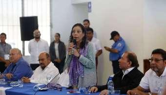 Vicepresidenta Rosario Murillo Nicaragua golpistas justicia