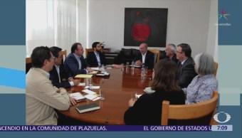 Videgaray y Guajardo se reúnen con equipo de transición