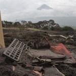 Descienden lahares por lluvias en Volcán de Fuego Guatemala