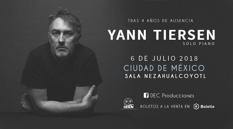 Yann Tiersen en México