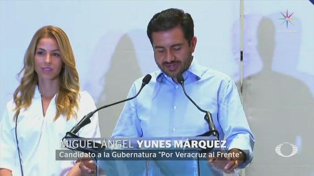 Yunes Márquez reconoce derrota en Veracruz
