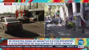 Zona centro de Veracruz percibe sismo con mayor intensidad