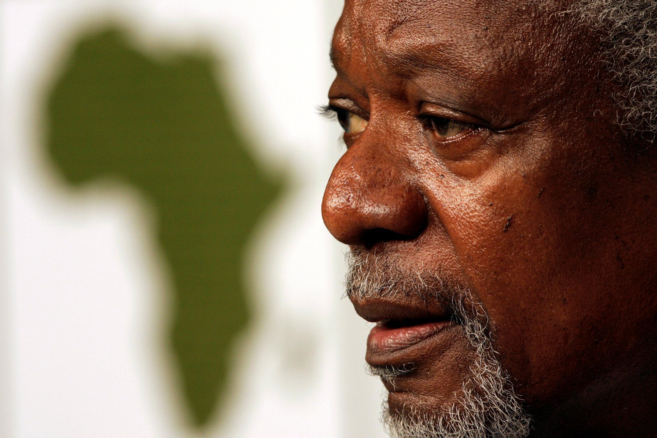 Muere Kofi Annan, ex secretario general de las Naciones Unidas