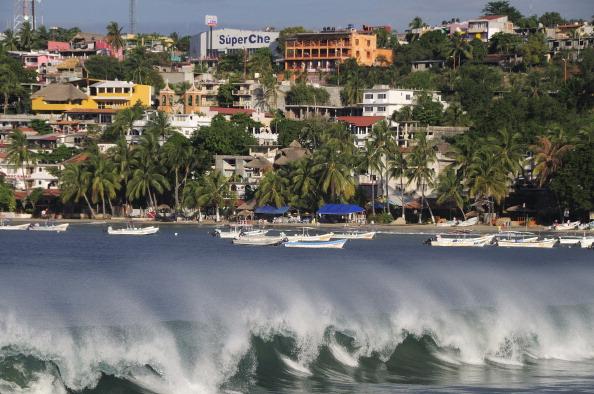 puerto escondido recibe mas turistas este fin semana