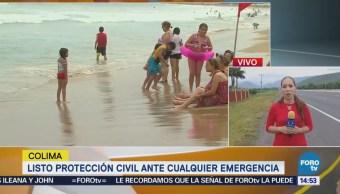 Cierran Navegación Puerto Manzanillo Tormenta Ileana