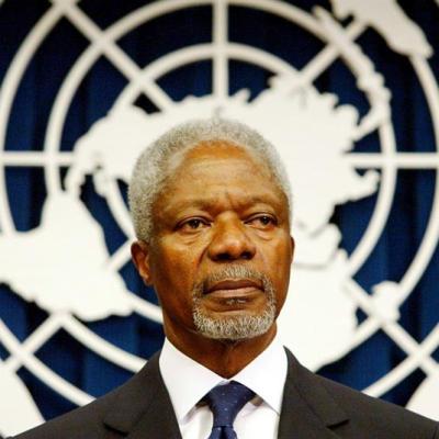 Murió el exsecretario general de la ONU y Premio Nobel de la Paz Kofi Annan