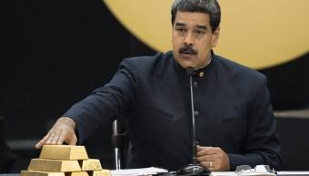maduro anuncia plan nacional ahorro en oro