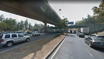Dos accidentes automovilísticos provocan daños en postes de CDMX