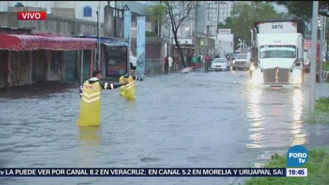 Inundaciones Lluvias Avenida Zaragoza Complicaciones Para Circular Fuertes Lluvias Masl Tiempo Clima Lluvias Hoy