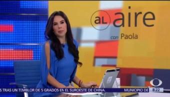 Al aire con Paola Rojas Programa del 13 de agosto del 2018