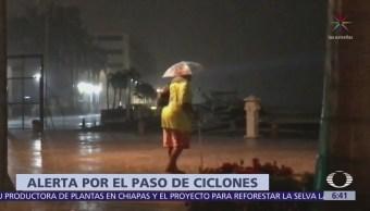 Alerta en Guerrero, Jalisco y Colima por lluvias de 'Ileana' y 'John'