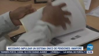 Amafore Propone Sistema Único Pensiones