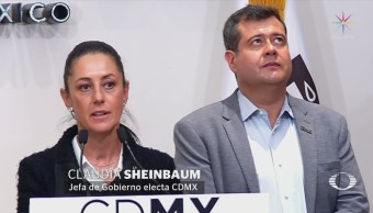 Amieva y Sheinbaum colaboran acelerar proceso reconstrucción
