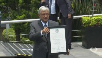 AMLO Compromete Respetar División Poderes México