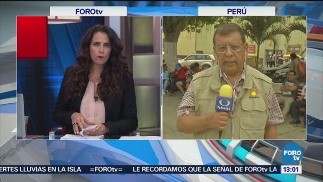 Continúan Éxodo Venezolanos Dirigen Perú