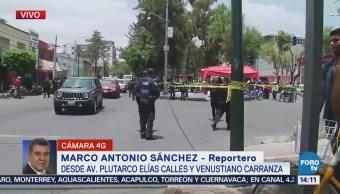 Asesinan Dos Personas Calles Ciudad De México Avenida Plutarco Elías Calles Y Venustiano Carranza Ciudad De México