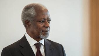 Ghana declara una semana de luto por Kofi Annan