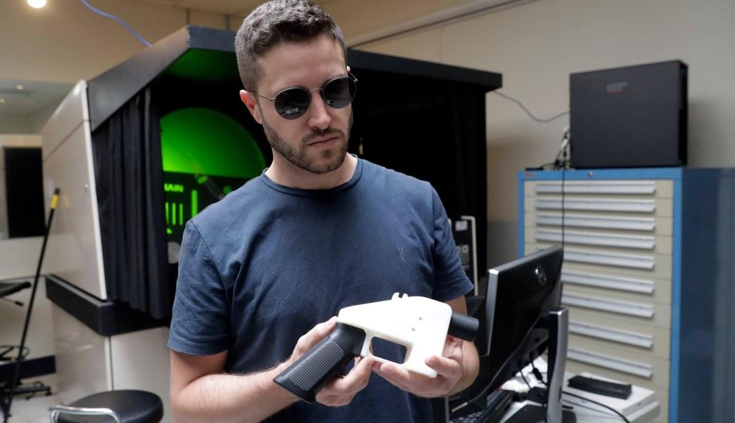 Venden en internet planos para imprimir armas en 3D