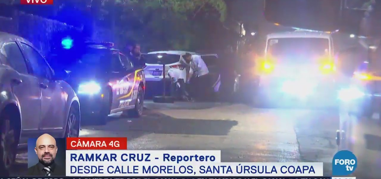 Asesinan a hombre en Santa Úrsula Coapa, CDMX