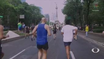 Así se corrió el Maratón CDMX 2018