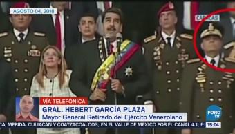 Autoatentado Acto Desesperado Nicolás Maduro Hebert García Plaza