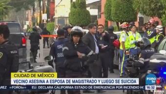 Autoridades Investigan Balacera Coyoacán Murieron Dos Personas Esposa De Magistrado