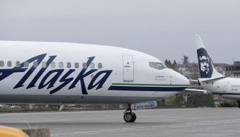Alaska Airlines reporta robo de avión