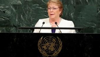 Peña Nieto respalda a Bachelet como alta comisionada de la ONU para derechos humanos