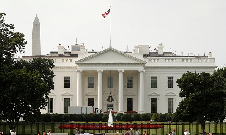 Foto: La Casa Blanca en Washington, 7 abril 2019