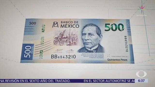 Benito Juárez es la imagen del nuevo billete de 500 pesos