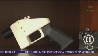 Bloquean impresión de armas en 3D