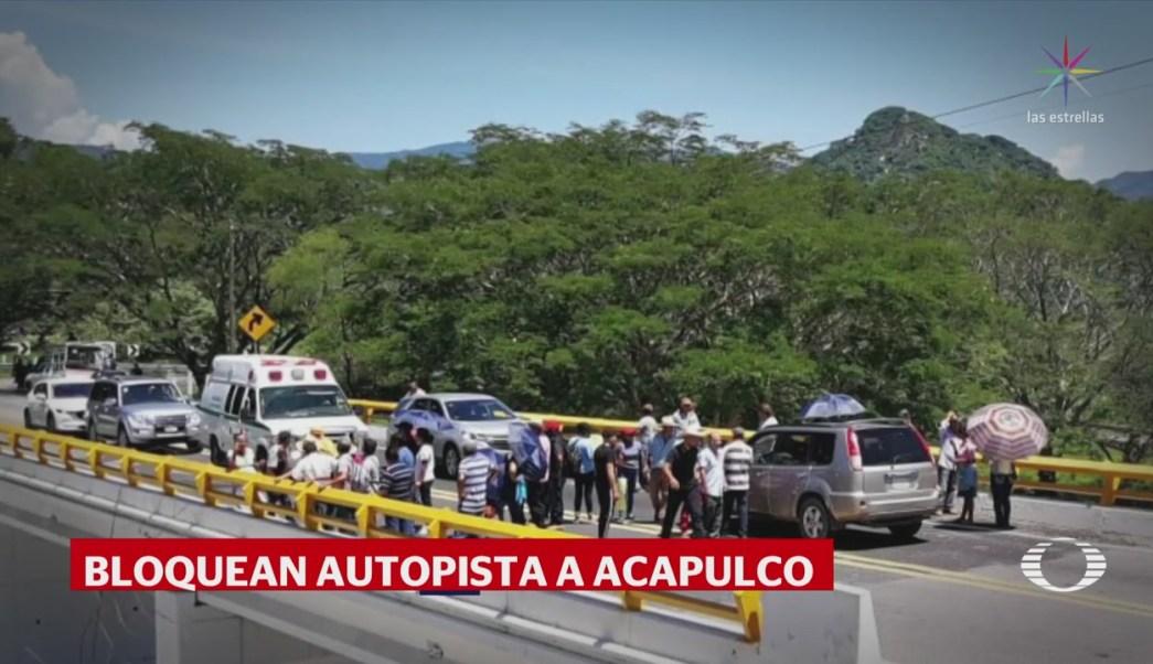 Bloquen Autopista Del Sol Conflicto Postelectoral Guerrero