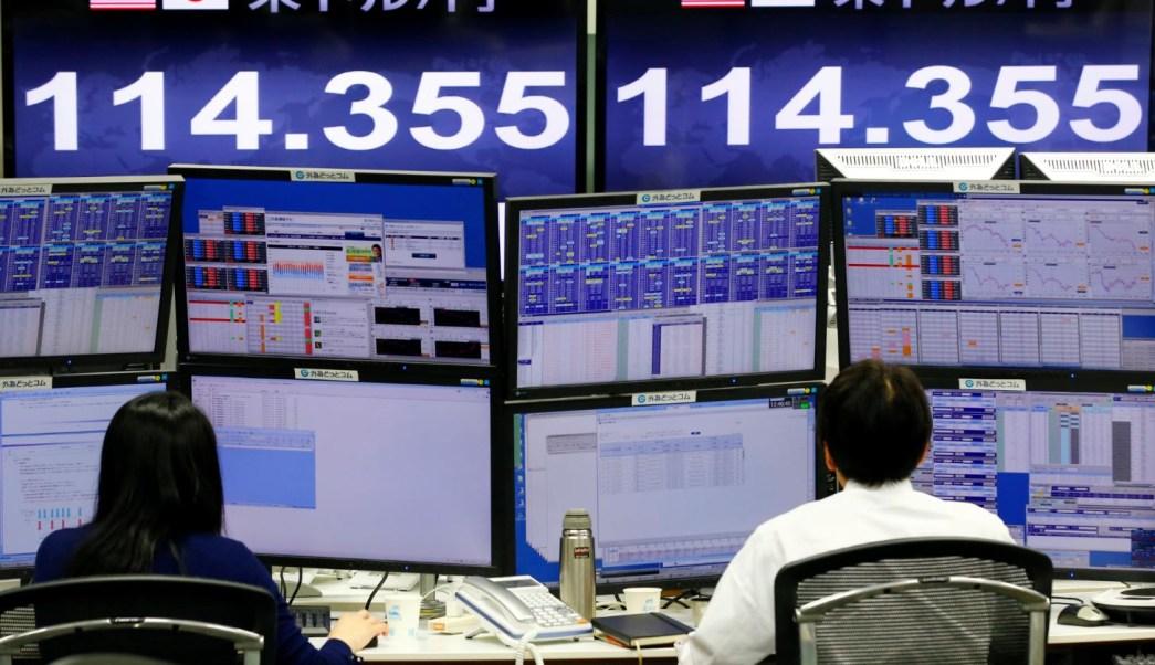Bolsas de Asia recuperan pérdidas, Nikkei sube 0.7%