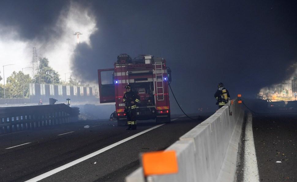 Un muerto deja explosión cerca Aeropuerto Bologna, Italia