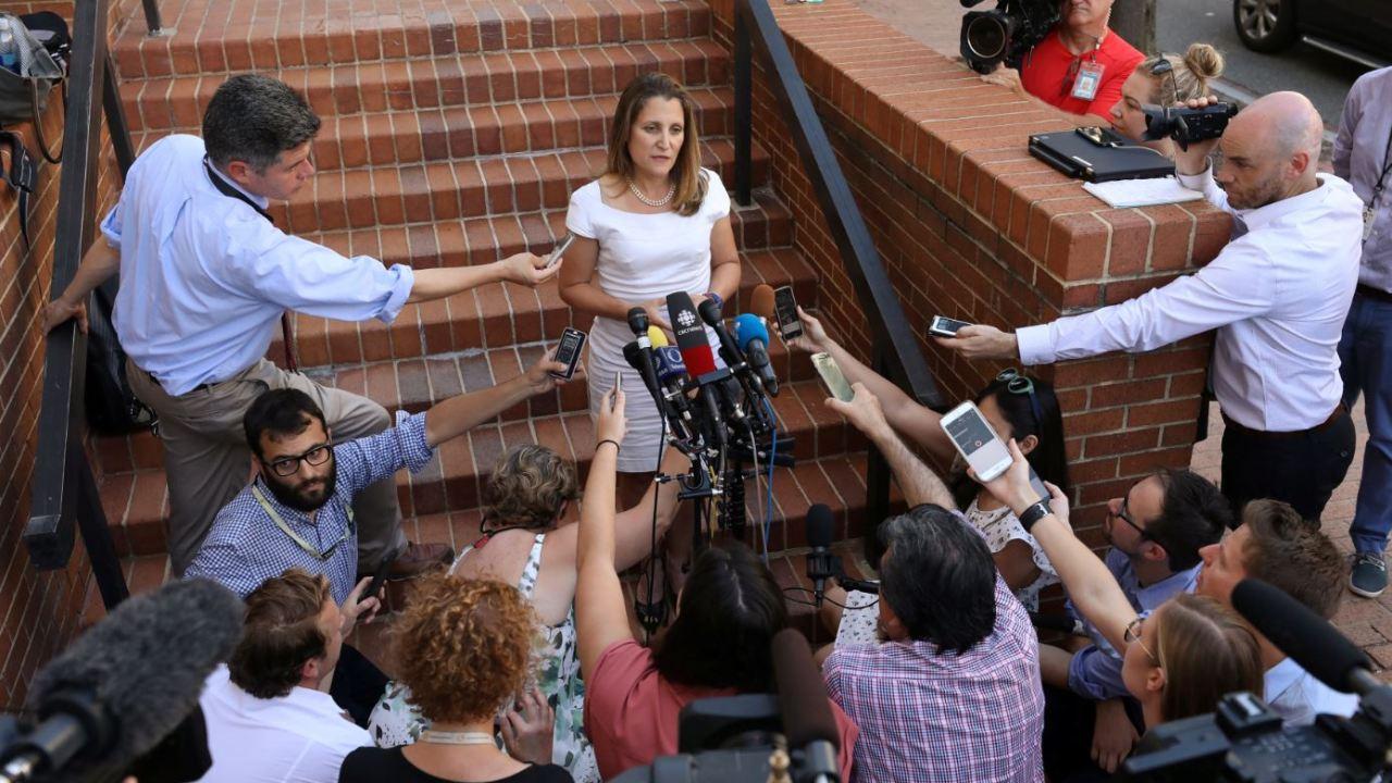 Canadá duda poder alcanzar acuerdo sobre TLCAN este viernes