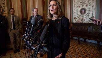 Canadá firmará TLCAN sólo si es bueno para el país Freeland