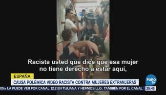 Polémica Video Racista Mujeres Latinas España