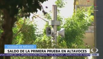 CDMX: 757 altavoces de alerta sísmica deben ser reparados o sustituidos