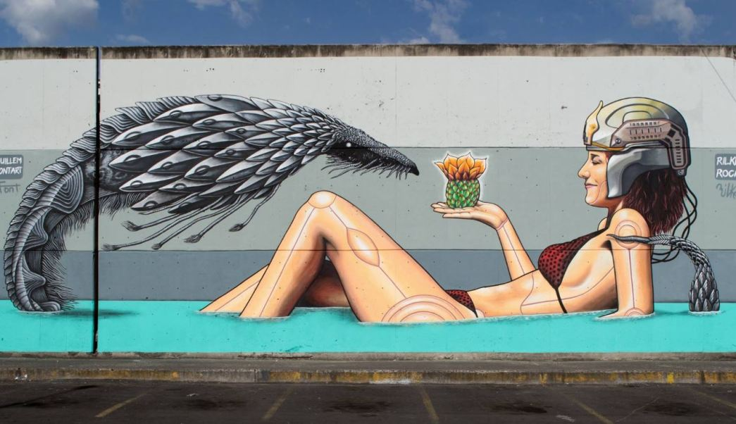Central de Muros, arte público