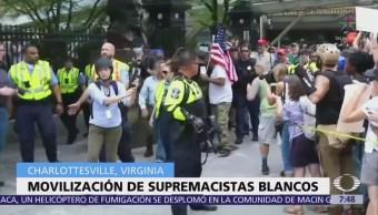 Charlottesville: Se cumple un año de protesta supremacista