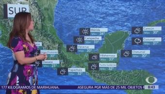 Clima Al Aire: Onda tropical 32 provocará lluvias en la Península de Yucatán