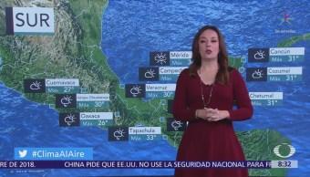 Pronostican lluvias en el Valle de México