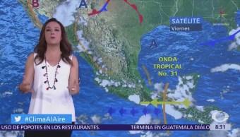Clima Al Aire Se prevén lluvias y chubascos Valle de México