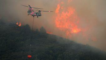 Complejo Mendocino incendio más grande historia California